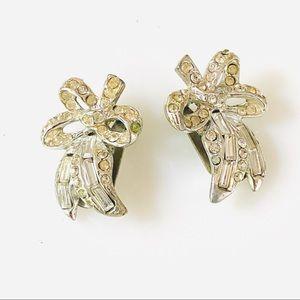 {DOWNSIZING SALE} Weiss Vintage Bow Earrings Set